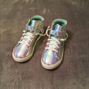 5/$20! Wonder Nation Rainbow Reflection Hi-Top
